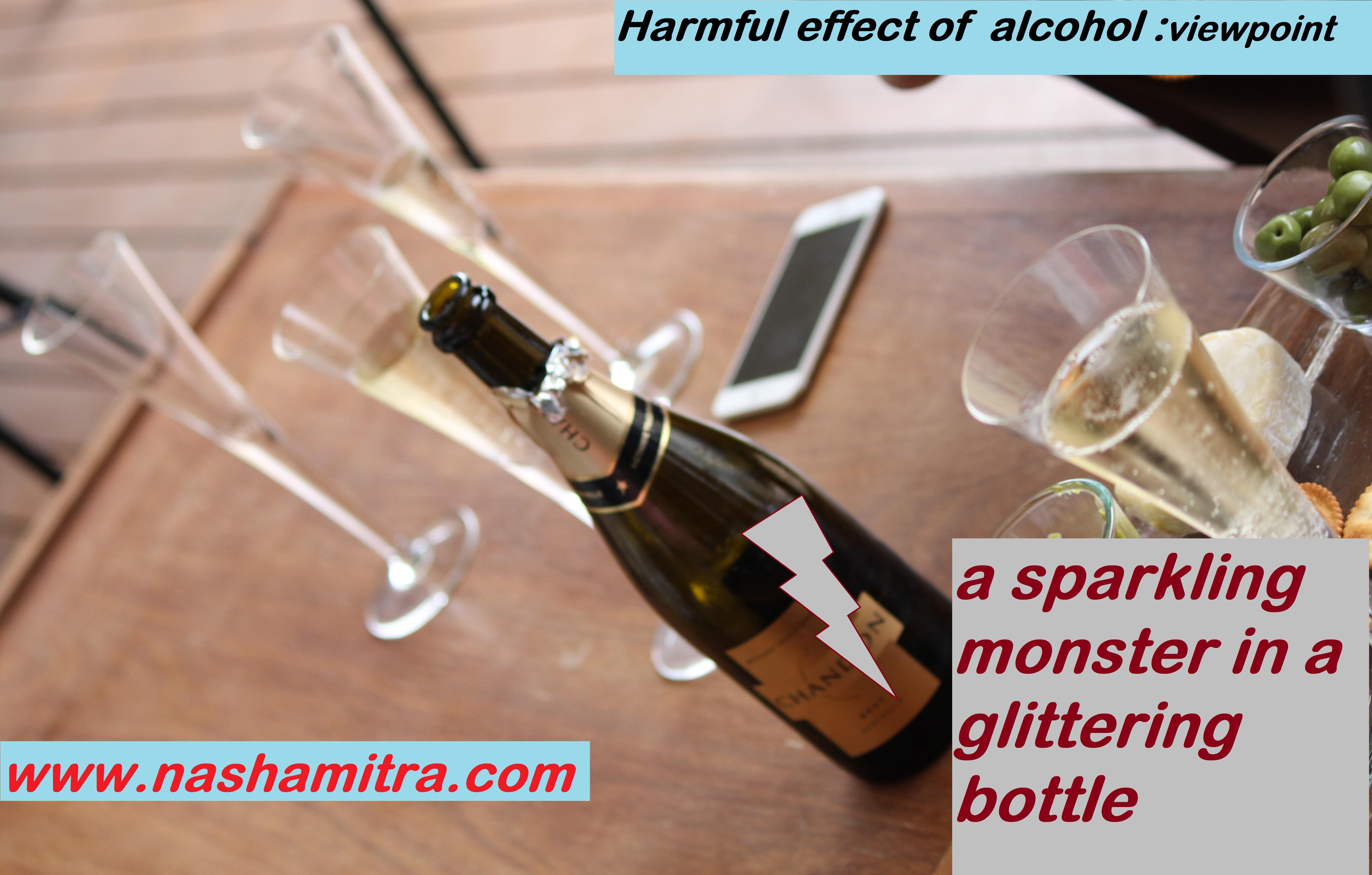 A sparkling monster sealed in a glittering bottle